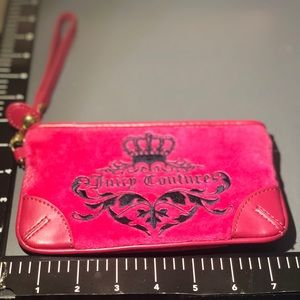 Juicy Couture Bags - Juicy Couture - Hot Pink Wristlet